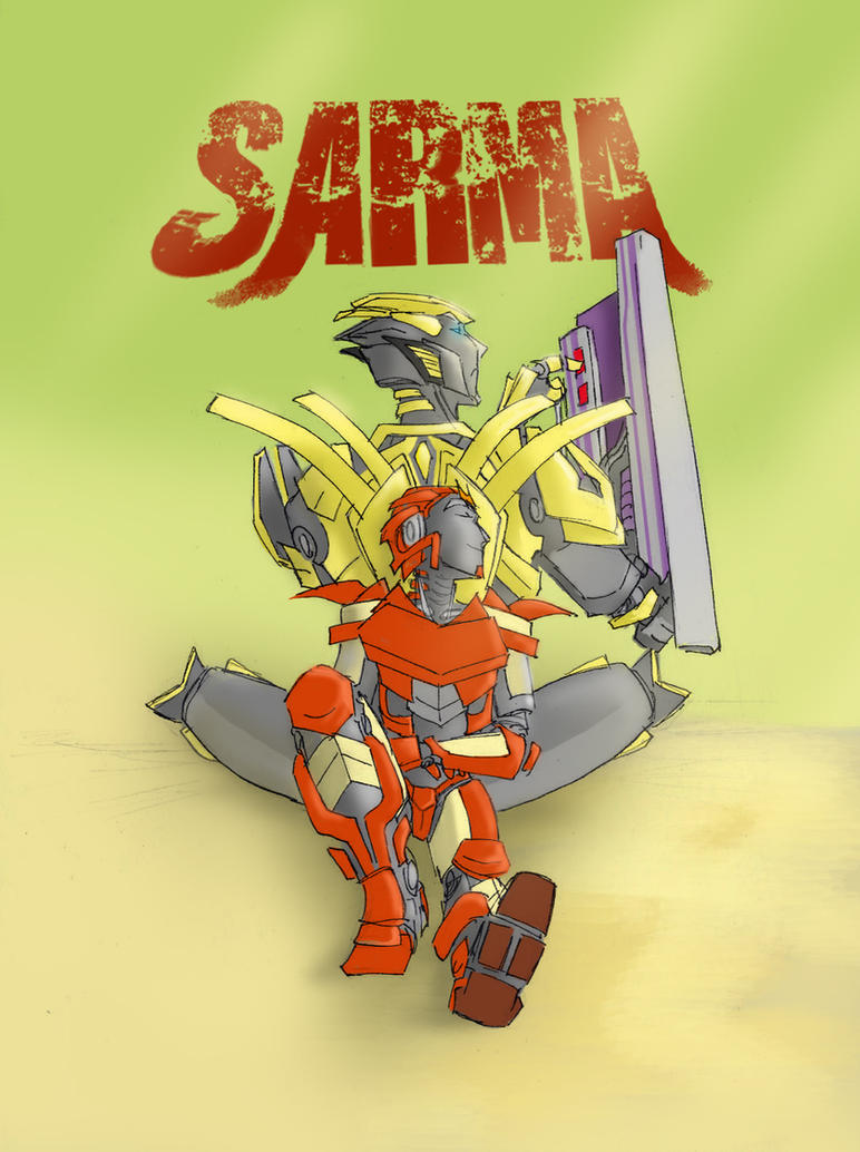 SARMA by greenapplefreak