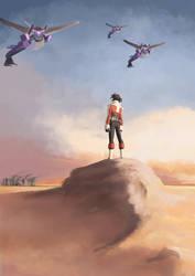 The son of the desert by greenapplefreak