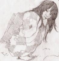 Rin 12 y.o. (sketch 3) by ep462