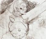 Inu no Taisho Final Battle (sketch) 2