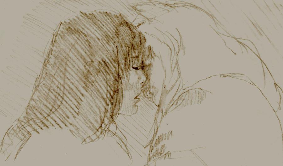 K IY Kiss Sketch by ep462