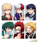 Collab - BNHA Six Fanarts