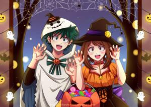 BNHA - IzuOcha - Halloween Trick or Treat