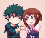 BNHA - IzuOcha - Chibi Love