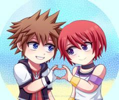 KH - SoKai - Chibi Love