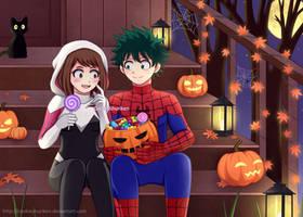 BNHA - IzuOcha - Autumn Halloween