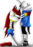 Don't leave me Papyrus