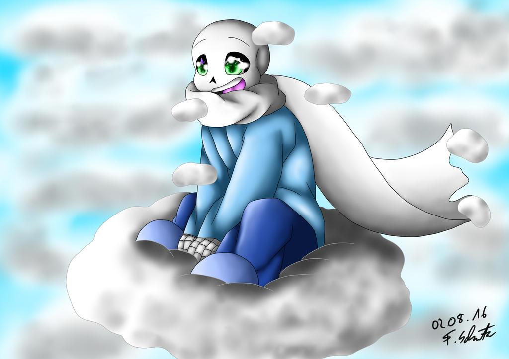 kinder cloud sans undertale amino