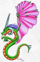 Umbrella dragon by LARvonCL