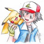 Pikachu and Ash