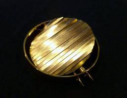 Gold brooch, Bella Nordic 2011