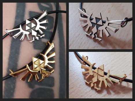 Hyrule Crests pendants