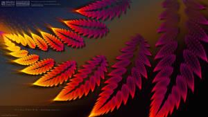 Burning leaves by muzucya