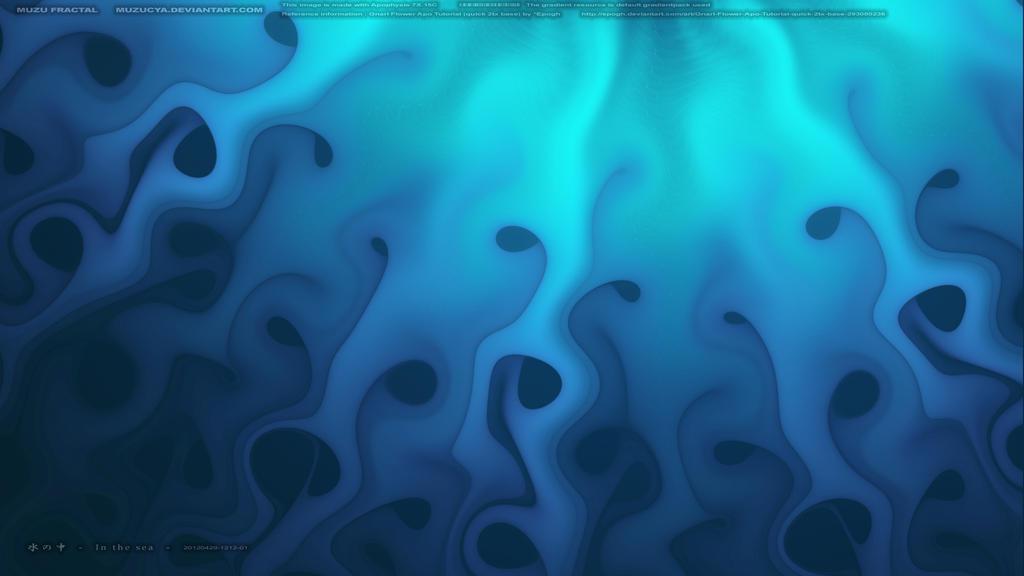 In the water by muzucya