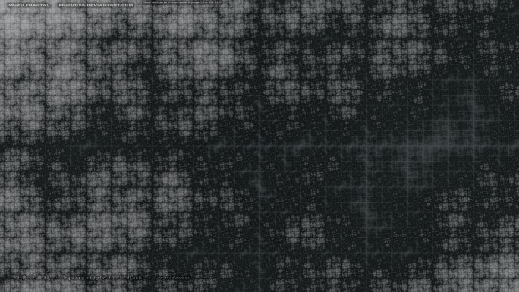Square ripple TYPE Black - 20121110-2029-01 by muzucya