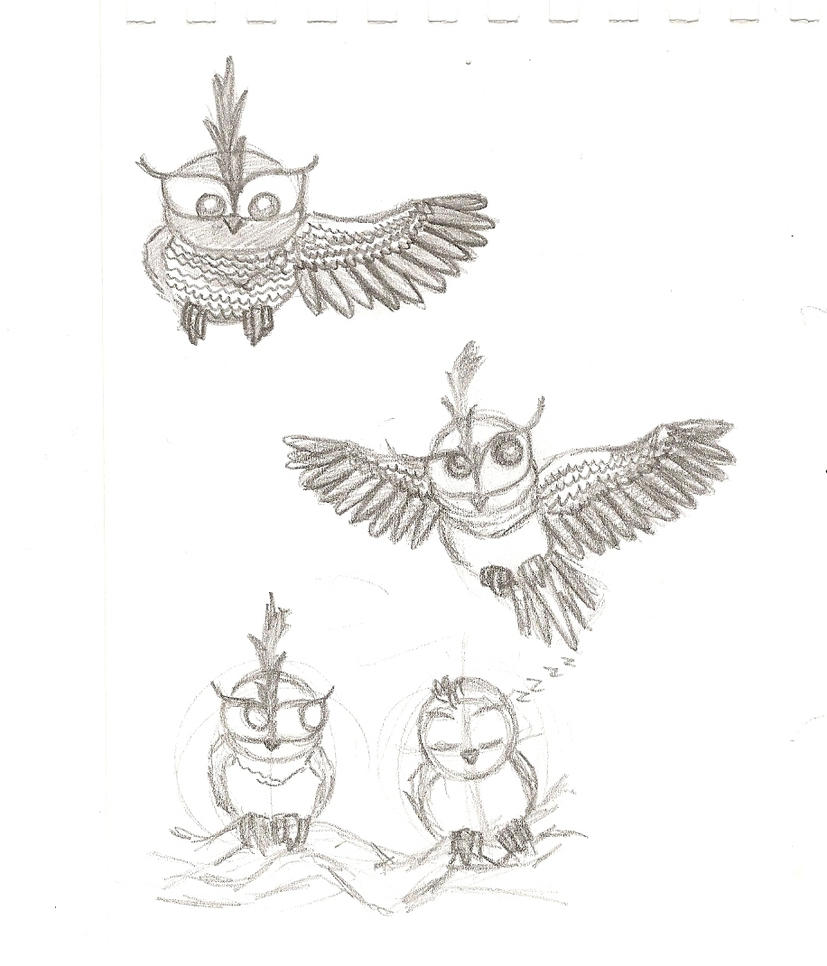 OwlSketch by Disney8dream