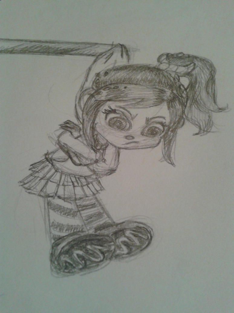 Vanellope by Disney8dream