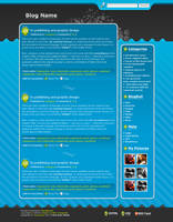 Wordpress Template 6 by Tooschee
