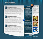 Wordpress Template 8