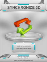 Synchronize 3D Icon by Tooschee