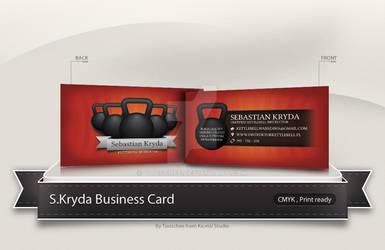 Kettlebell Instructor Business Card