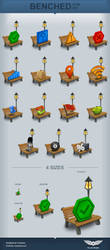 Benched Icon Set by Tooschee