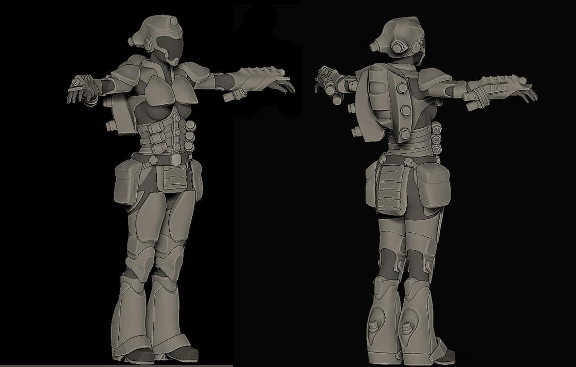 Future Warrior Art Concept Art Future Soldier