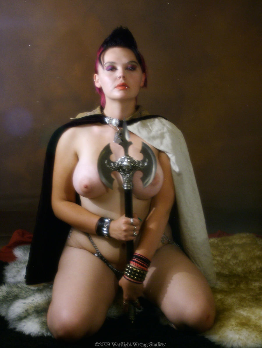 Naked barbarian chick xxx pic