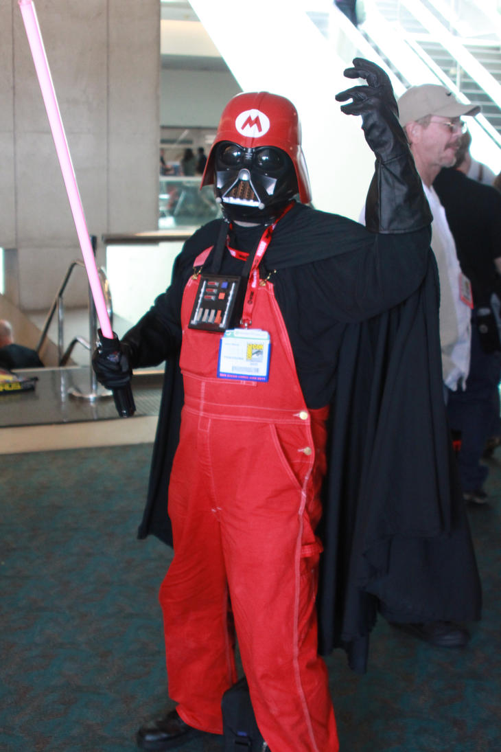 Darth Mario by Warflight