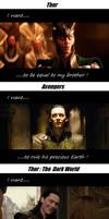 Thor: Loki-I Want...