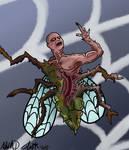 Human Fly - monsterowlrd