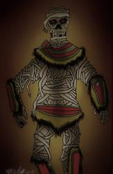 Popoca, the Aztec Mummy - Monsterworld by KingKevzilla