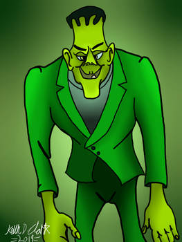 30 Days Of Frankenstein - Frankie (Groovy Goolies)