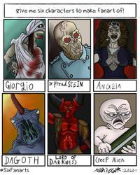 Six Characters vol.2