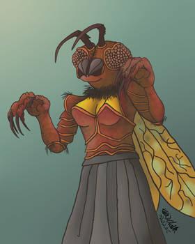 The Wasp Woman - Monsterworld