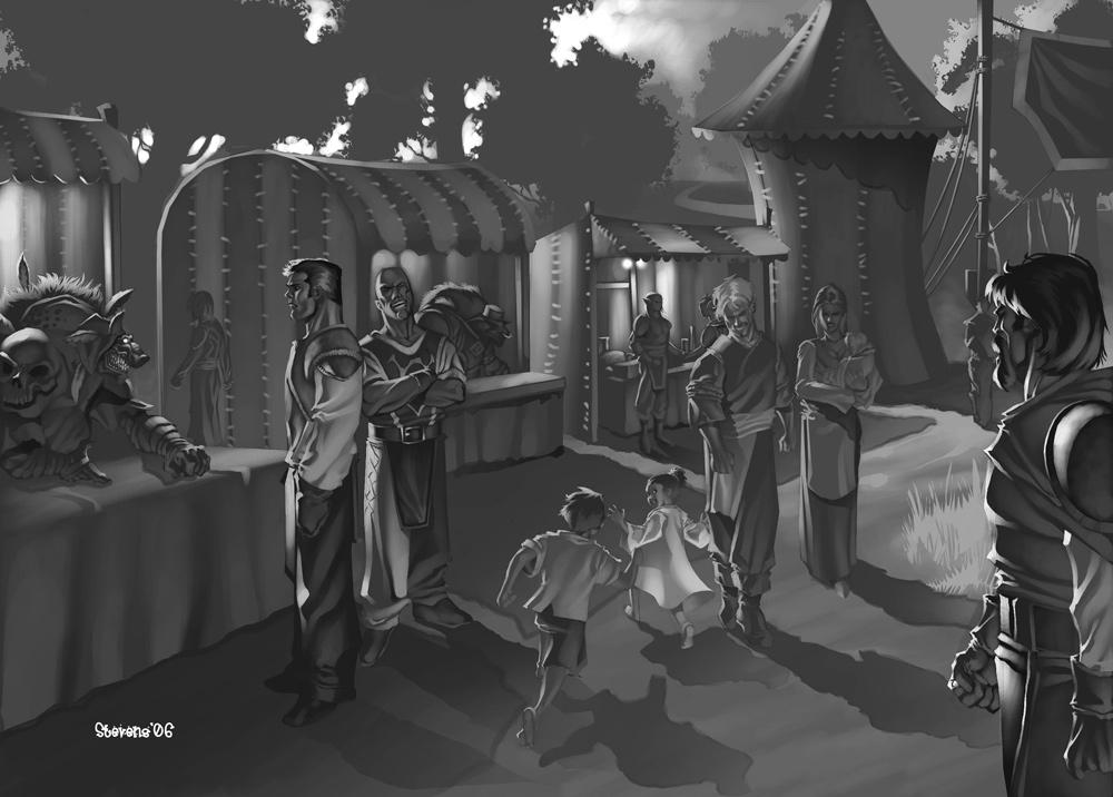 WoW RPG - Darkmoon Faire by ChristopherStevens