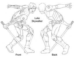Star Wars - Luke Skywalker by ChristopherStevens