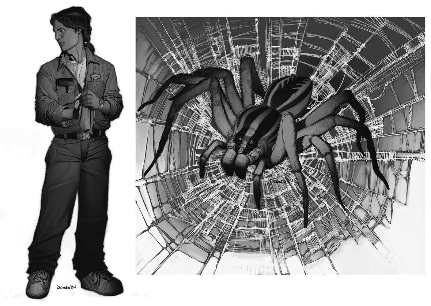 Changing Breeds - Spider by ChristopherStevens