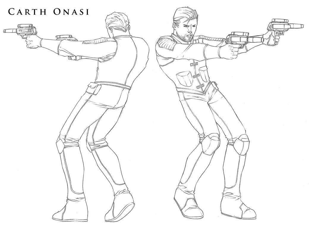 Star Wars - Carth Onasi Mini by ChristopherStevens