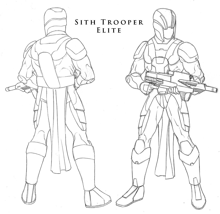 Star Wars - Sith Trooper 1 by ChristopherStevens
