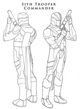 Star Wars - Sith Trooper 3