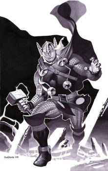 Thor- Marker Illo