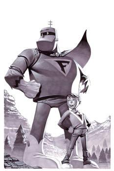 Frankenstein Jr- Marker Illo