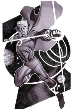Green Lantern- Marker Illo