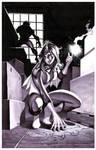 Spider-Woman- Marker Illo