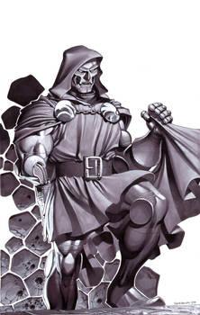 Doctor Doom- Marker Illo