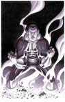 Black Adam- Marker Illo