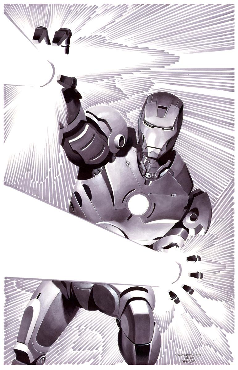 Iron Man- Marker Illo