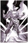 Captain Marvel- Marker Illo