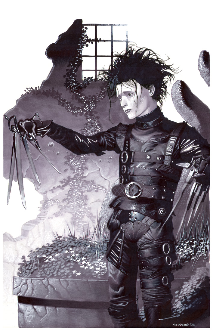 Edward Scissorhands- Marker by ChristopherStevens